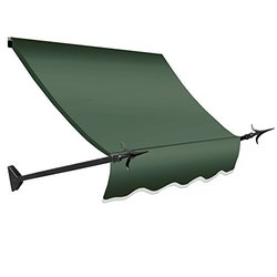 5 ft. New Orleans Awning (31 in. H x 16 in. D) in Sage