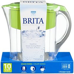 Brita 10 Cup Grand Water Filtration Pitcher - Green