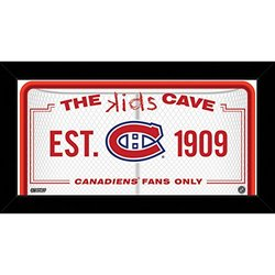 Montreal Canadiens 10x20 Kids Cave Sign