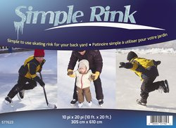 CINTEX Rink in A Box 10-Feet X 20-Feet (HK00-BRBX-102)