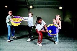 "Mykatchers 18"" Dia Cloth Ball Catcher Baskets - Set of 6 - Assorted Color"