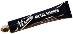 "Nissen MMTAF Metal Ball Point Marker, 5/64"" Tip, Tan (Pack of 12)"