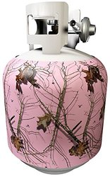 Mossy Oak Break-Up Lifestyles Removable Magnetic Tank Cover - Pink