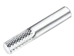 "Micro 100 2.5"" Overall L Diamond Cut Router Flute Solid Carbide Tool"