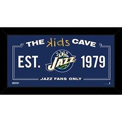 "Steiner Sports NBA Kids 10x20"" Utah Jazz Cave Sign"