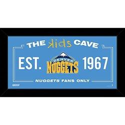 Denver Nuggets 10x20 Kids Cave Sign