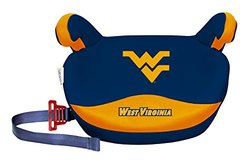 NCAA 30-110 lb West Virginia Mountaineers No Back Booster Seat - Multi