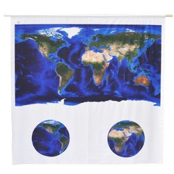 Jet Creations Negative Ions Curtain, Earth: The Blue Marble