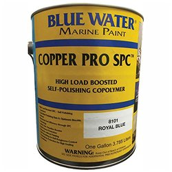 Blue Water Marine Paint Copper Pro Scx - Royal Blue - One Gallon