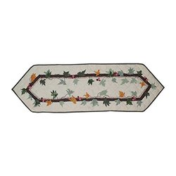 Patch Magic TRFALL-S Falling Leaves Table Runner Small; TRFALL-S