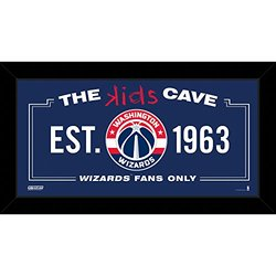 "Steiner Sports Washington Wizards Kids Cave Sign - Size: 10"" x 20"""