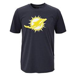 NFL Miami Dolphins Boy's Performance T-Shirt - Charcoal - Size: XL