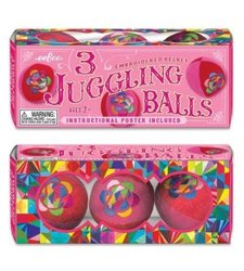 eeBoo Pink Juggling Ball for Kids - Set of 3