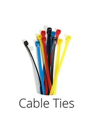 Aurum Cable 125' Snagless Cat6 Ethernet Patch Cable w/ Ties & Clips- Black
