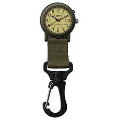 Dakota Light Backpacker Clip Watch w/Dial Light - Black