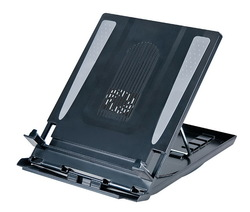 Aidata Laptop Riser with Cooling Fan - Clamshell