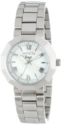 Invicta Angel Watch: White Mother Of Pearl Dial (0542)