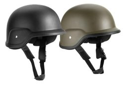 G.I. Style ABS Plastic Costume Military, Army Helmet Black, S/M