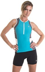 Alii Lifestyle Women's Michaela Tri Singlet, Teal, Small