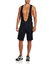 Pearl Izumi Men's Veer Shorts with Bib, Black, Medium