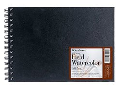 """Strathmore Field Watercolor Book - 60 pages -10"""" x 7"""" (441-7)"""