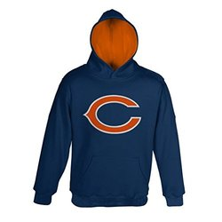 Chicago Bears Youth Primary Pullover Hooded Sweatshirt - Large