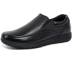 Arbete Leather Work Black Shoes-10