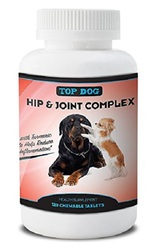 Top Dog 2-Pack Dog Hip & Joint Health Supplement - 120 chewable tablets