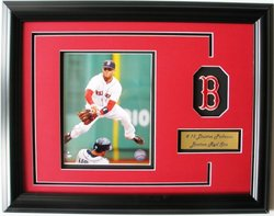CGI Sports Memories Boston Red Sox Dustin Pedroia Photo Frame with 3D Double Mat