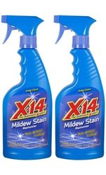X-14 Mildew Stain Remover Spray with Trigger Pack of 1 - 32 oz