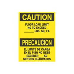 Brady 39738, Bilingual Sign (Pack of 10 pcs)