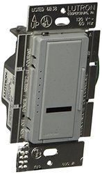 Lutron MIRLV-600M-BG Maestro IR 450-watt Multi Location Magnetic Low Voltage Dimmer, Bluestone