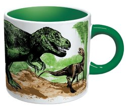 Disappearing Dinosaur Mug - Changes Magically Before Your Eyes