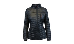 Spire by Galaxy Women's Packable Puffer Jacket - Black - Size: L