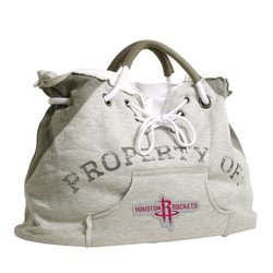 Little Earth NBA Houston Rockets Hoodie Tote Bag - Grey - Size: One Size