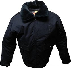 Men's CC01 Duty Jacket for Law Enforcement and Security - Navy/Large Long