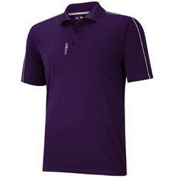 Adidas Golf Adizero Jersey 3-Stripes Polo - Purple - Size: XL
