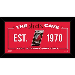 Portland Trail Blazers 10x20 Kids Cave Sign