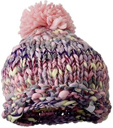 Screamer Girls Annie Beanie, Lavender/Pink, One size