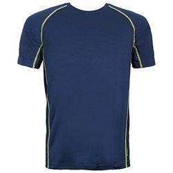adidas Men's Climacool Mesh Crew Underwear, Collegiate Navy/Semi Solar Yellow, X-Large