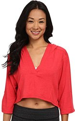 LOLE Women's Peppermint Top, Large, Campari