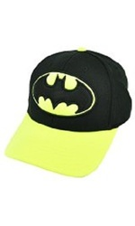 Concept One Batman Super Hero Hat - Black/Yellow - Size: