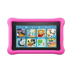 """Amazon Fire Kids Edition 7"""" 8GB Tablet With Bumper - Pink"""