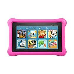 "Amazon Fire Kids Edition 7"" Tablet Bundle 8GB - Pink Kid-Proof Case"