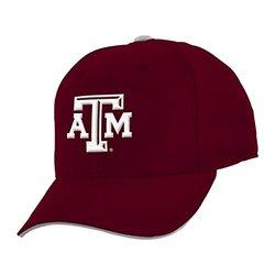 NCAA Youth Boys Texas A&M Aggies Basic Structured Adjustable Cap - Maroon