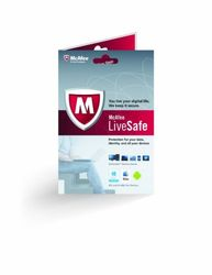 McAfee LiveSafe 2013 Subscription Unlimited Device - 1 Year