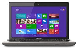 "Toshiba Satellite 15.6"" Laptop - 3rd Gen Intel  Core i5-3230 processor - 8GB Memory - 750GB Hard Drive - Backlit keyboard - Windows 8 - Prestige Silver"