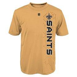 NFL Youth Boys New Orleans Saints T-Shirt - Orange - Sz: M/10-12