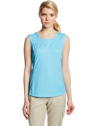 Salomon Women's Apogee Tank Top, Score Blue, Medium