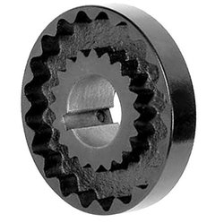 "Lovejoy 1.125"" Bore 4.625"" Outside Dia. Cast Iron S-Flex Coupling Flange"